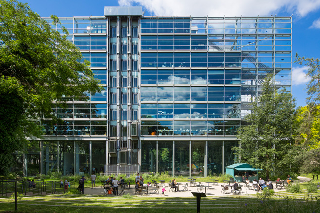 Un bâtiment conçu par Jean Nouvel